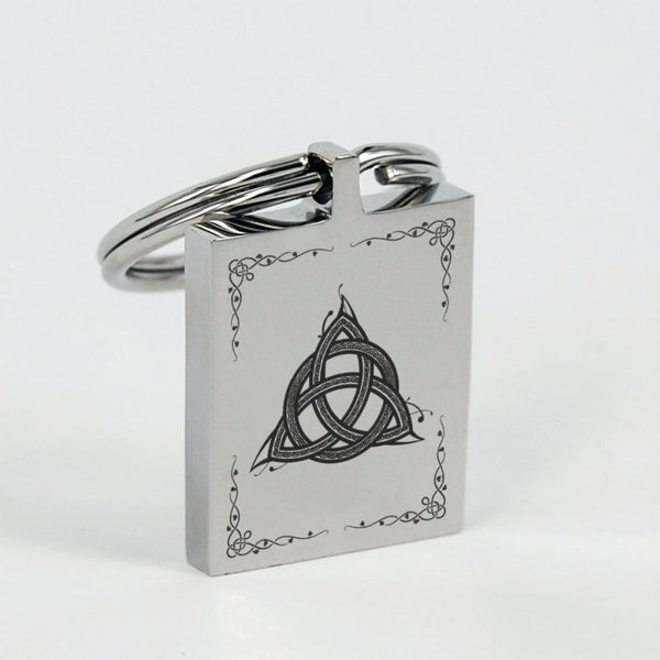 Celtic Triquetra Keychain - The Moonlight Shop