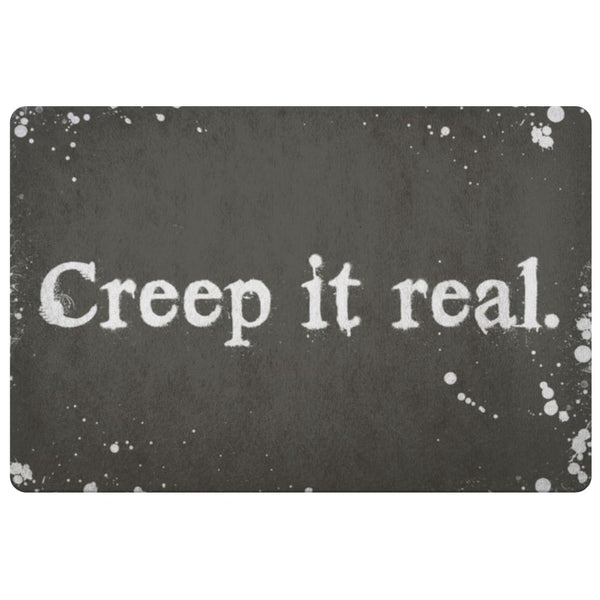 Creep It Real Doormat - The Moonlight Shop