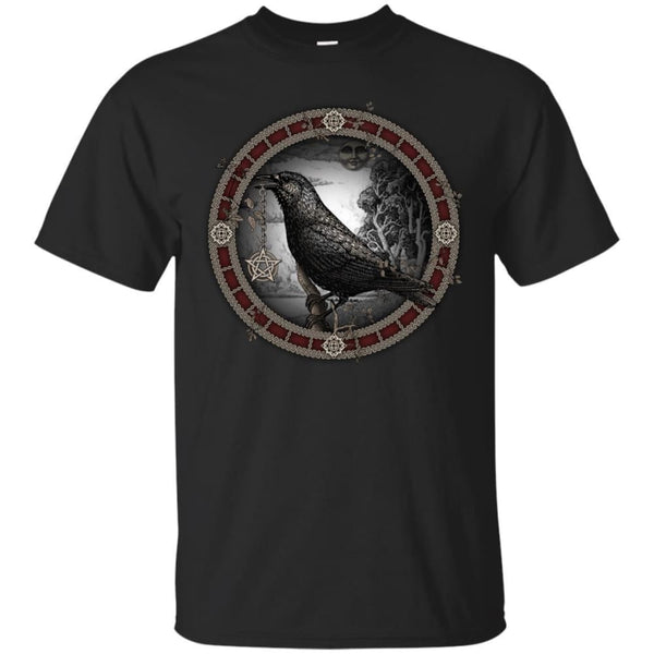 Crow Pentacle Shirt - The Moonlight Shop