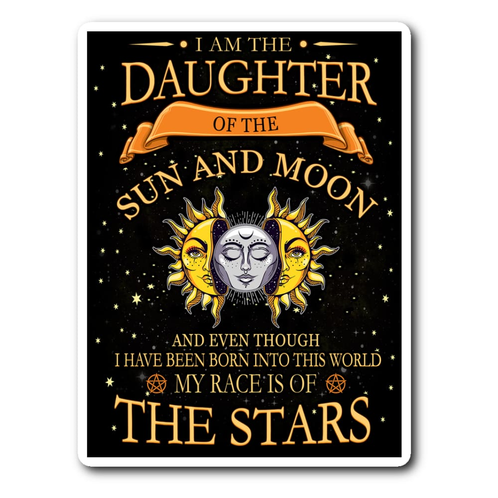 Daughter Of The Sun And Moon Sticker