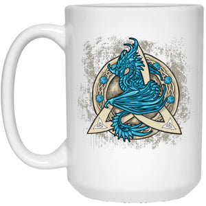 Dragon Guardian In Triquetra Mug - The Moonlight Shop