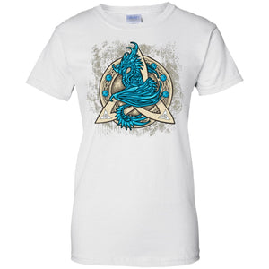 Dragon Guardian In Triquetra Shirt - The Moonlight Shop