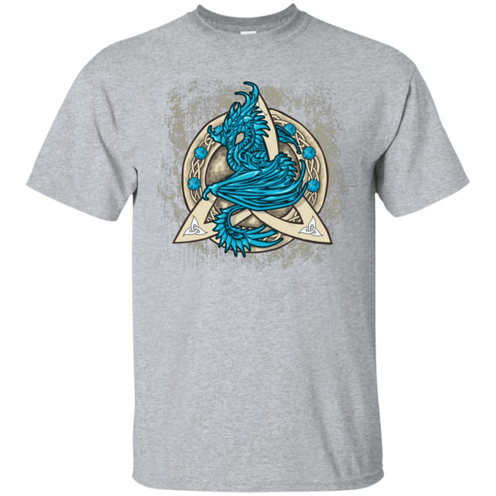 Dragon Guardian In Triquetra Shirt