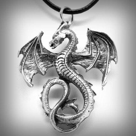 Dragon Guardian Necklace - The Moonlight Shop