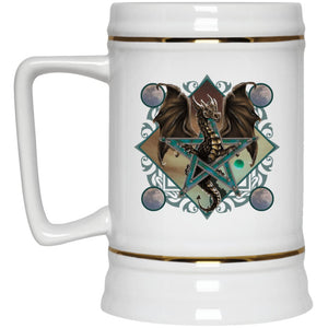 Dragon In Pentacle Mug - The Moonlight Shop