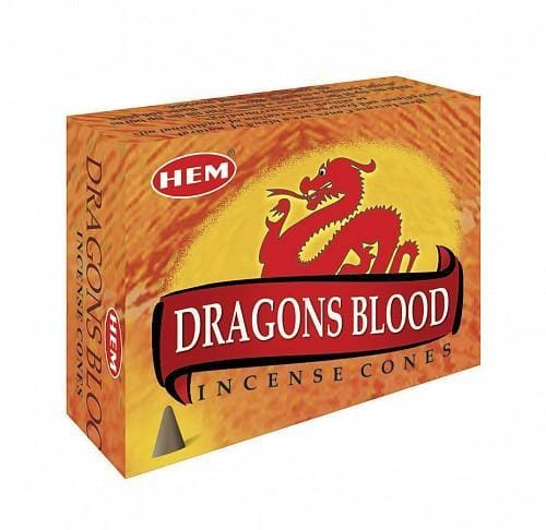 Dragons Blood Incense Cones - The Moonlight Shop