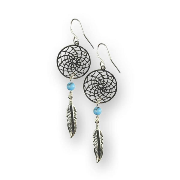 Dreamcatcher Earrings - The Moonlight Shop