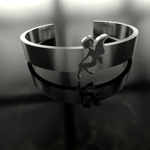 Faery Engraved Ring - The Moonlight Shop