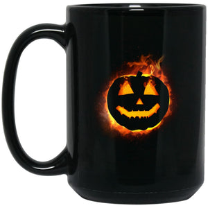 Fire Pumpkin Mug - The Moonlight Shop