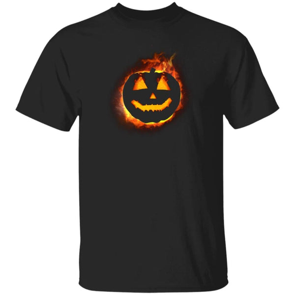 Fire Pumpkin Shirt - The Moonlight Shop
