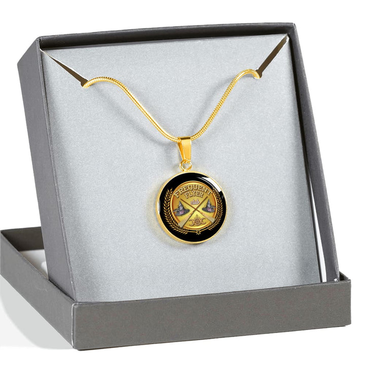 Frequent Flyer Club Luxury Necklace - The Moonlight Shop