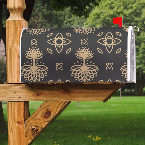 Celtic Tree Mailbox Cover