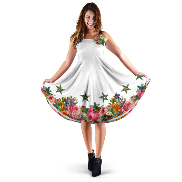 Floral Pentacle Dress