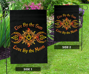 Live By The Sun, Love By The Moon Flag