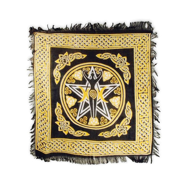 Goddess Of Fertility Altar Cloth - The Moonlight Shop