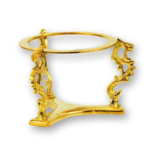 Gold Dragons Crystal Ball Stand - The Moonlight Shop