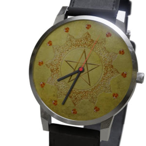 Gold Pentacle Luxury Watch - The Moonlight Shop
