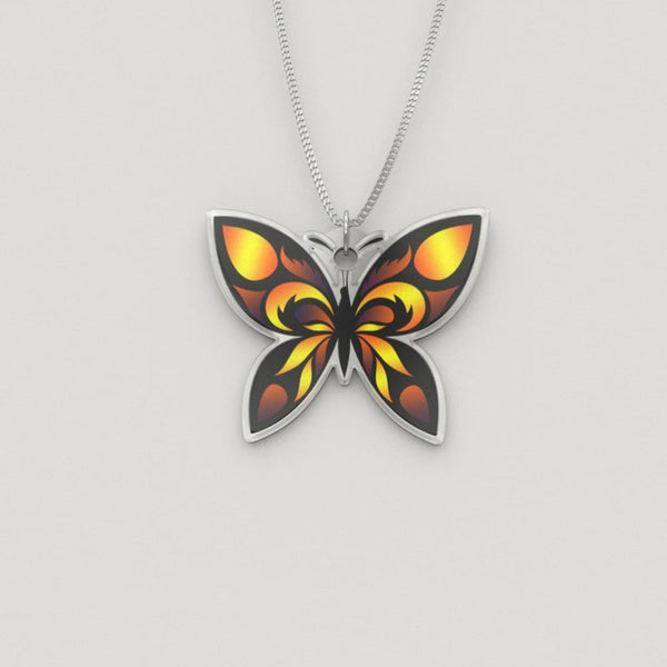 Golden Butterfly Luxury Charm Necklace - The Moonlight Shop