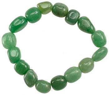 Green Aventurine Gemstone Bracelet - The Moonlight Shop