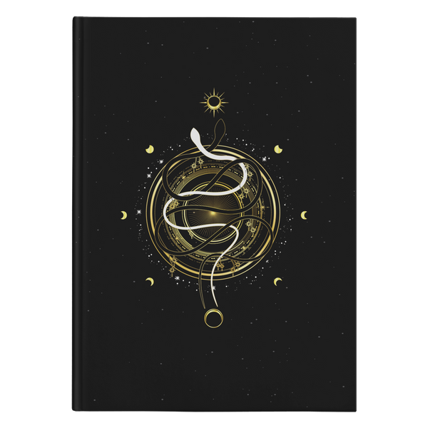 Guardian Serpent Of The Moon Hardcover Journal
