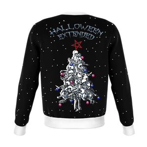 Halloween Extended Ugly Yule Sweatshirt - The Moonlight Shop