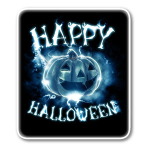 Happy Halloween Thunder Sticker - The Moonlight Shop