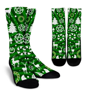 Happy Yule Socks - The Moonlight Shop