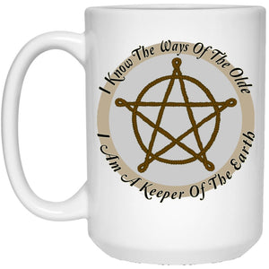 I Am A Keeper Of The Earth Mug - The Moonlight Shop