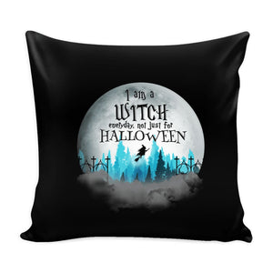 I Am A Witch Everyday Pillow Case - The Moonlight Shop