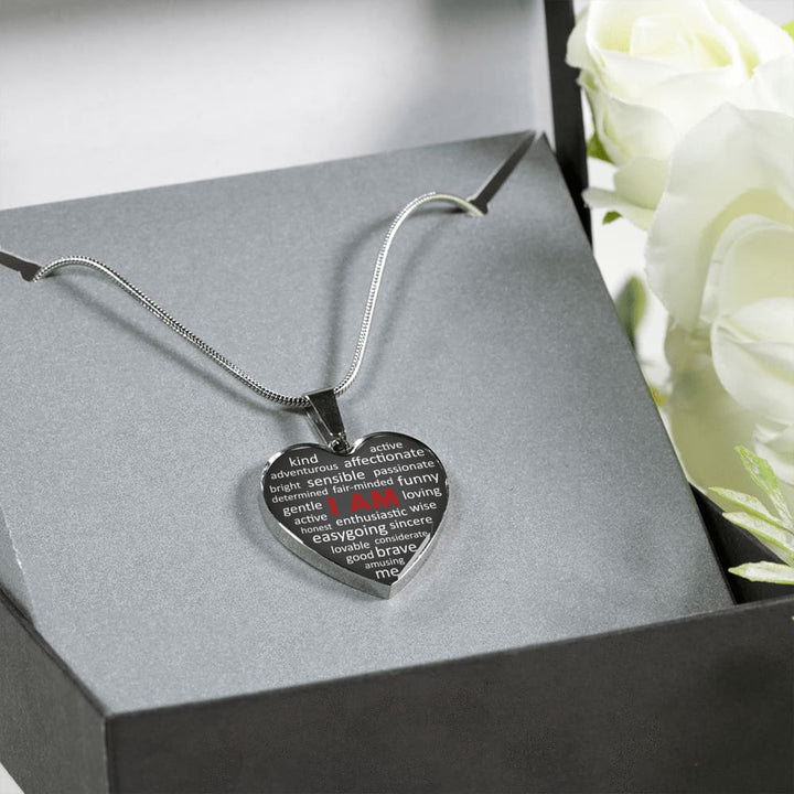 I Am (Heart Necklace) - The Moonlight Shop