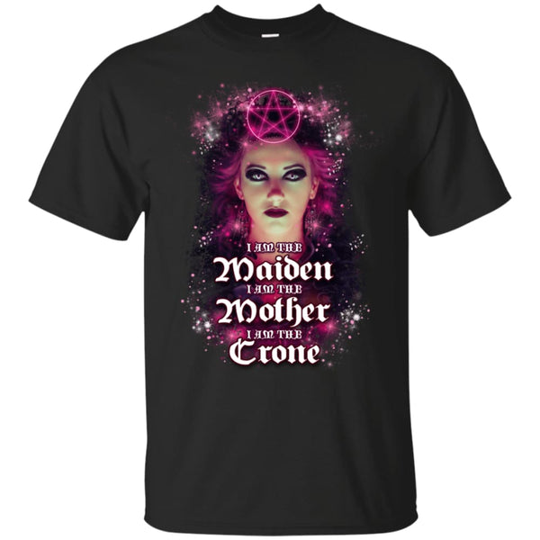 I Am The Maiden Mother And Crone Shirt - The Moonlight Shop