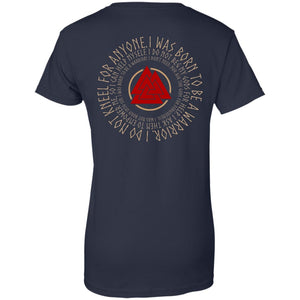 I Was Born A Warrior Shirt - The Moonlight Shop