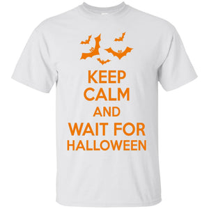 Keep Calm And Wait For Halloween - The Moonlight Shop