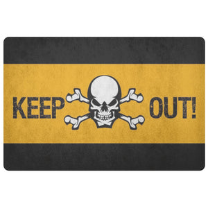 Keep Out Doormat - The Moonlight Shop