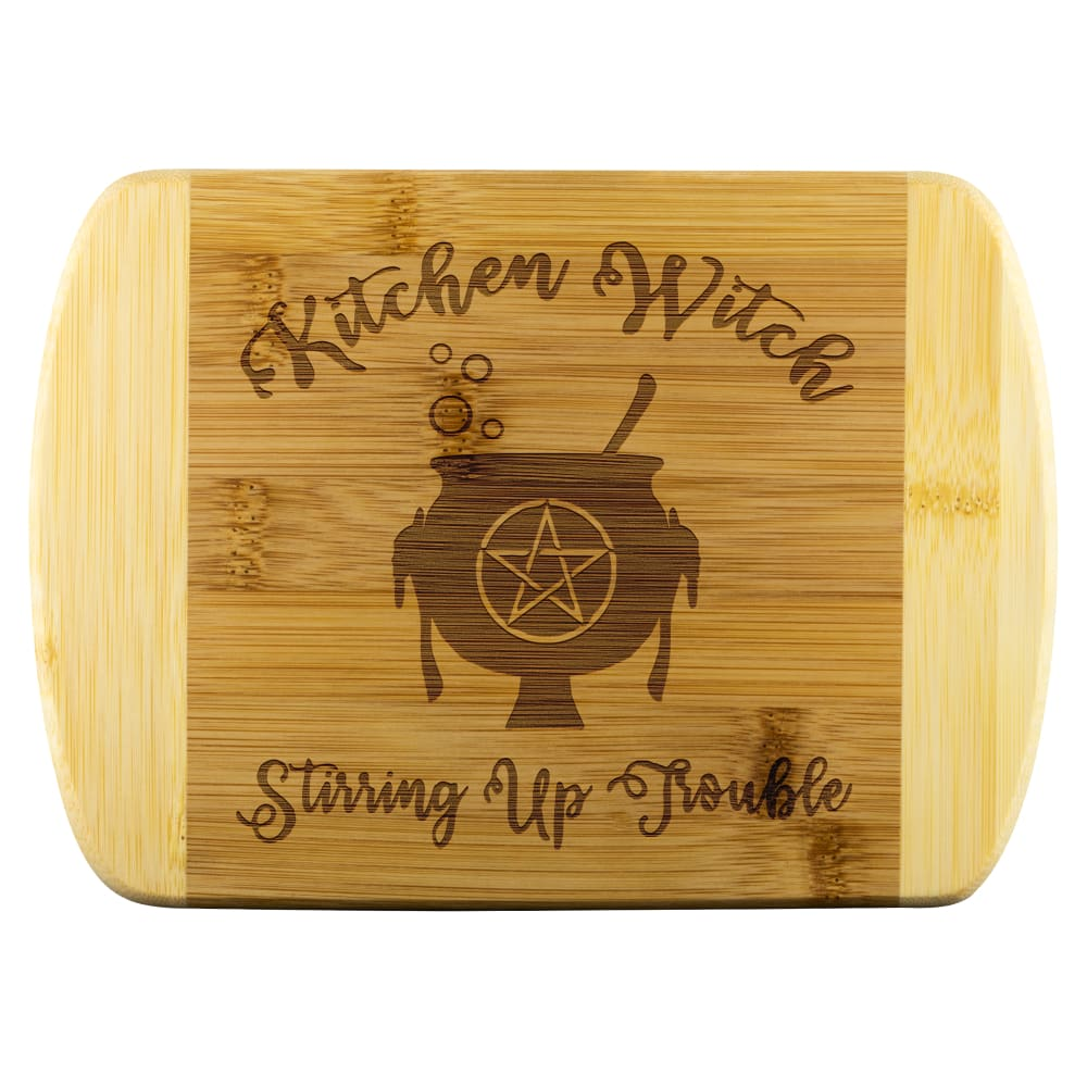 Kitchen Witch Wood Cutting Board