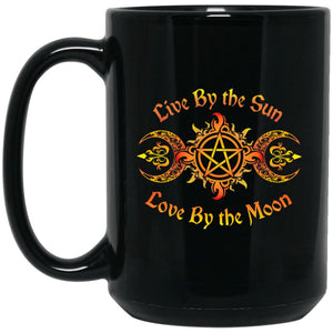Live By The Sun Mug - The Moonlight Shop