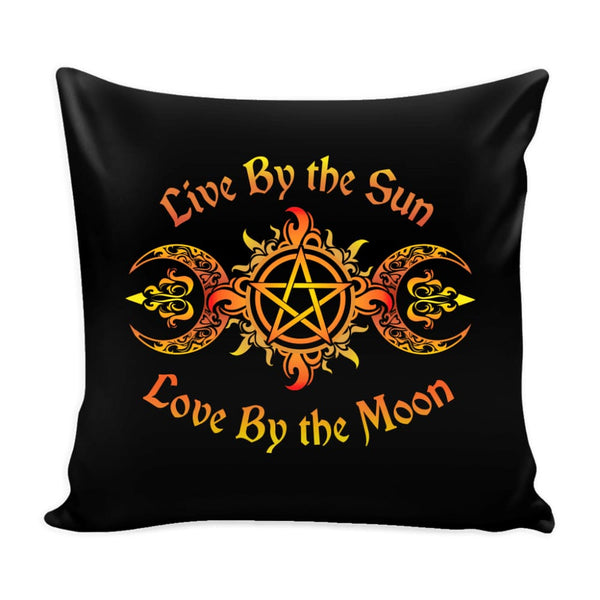 Live By The Sun Pillow - The Moonlight Shop