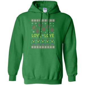 Love Is Love Ugly Christmas Sweatshirt - The Moonlight Shop