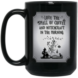 Love The Smell Of Coffee And Witchcraft Mug - The Moonlight Shop