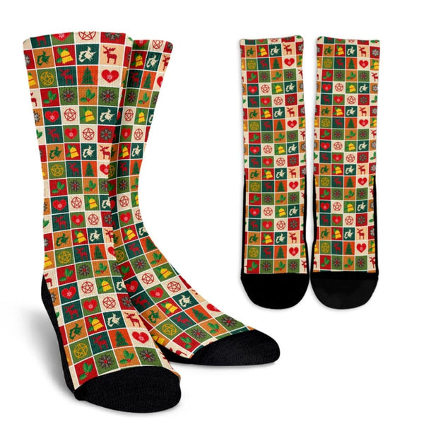Merry Yule Socks - The Moonlight Shop