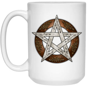 Metal Pentacle Mug - The Moonlight Shop