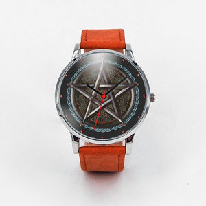 Metal Pentacle Watch - The Moonlight Shop