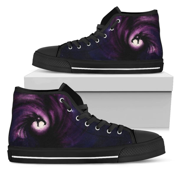 Midnight Dragon High Top Shoes - The Moonlight Shop