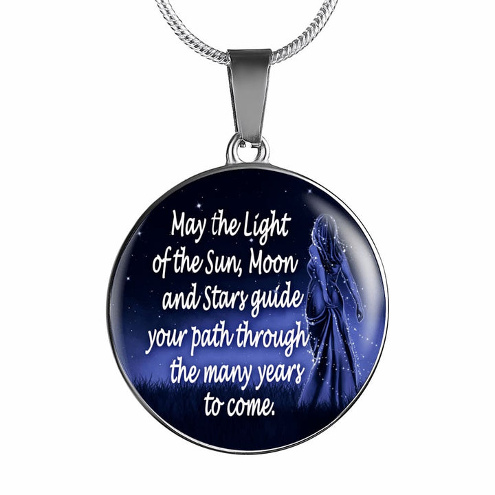 Moon Goddess Blessing Luxury Necklace - The Moonlight Shop