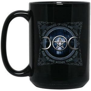 Moon Goddess Of Love And Light Mug - The Moonlight Shop