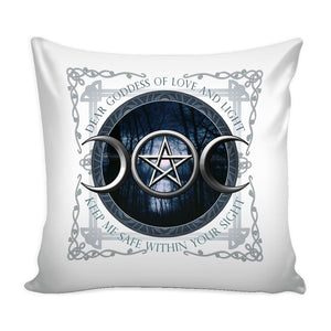 Moon Goddess Of Love And Light Pillowcase - The Moonlight Shop