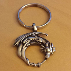 Moon Guardian Keychain - The Moonlight Shop