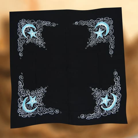 Moon Of Change Altar Cloth - The Moonlight Shop
