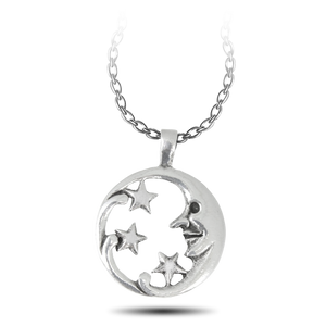 FREE Moon Goddess with Stars Necklace