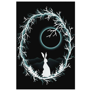 Moonlight Ostara Canvas Wall Art - The Moonlight Shop